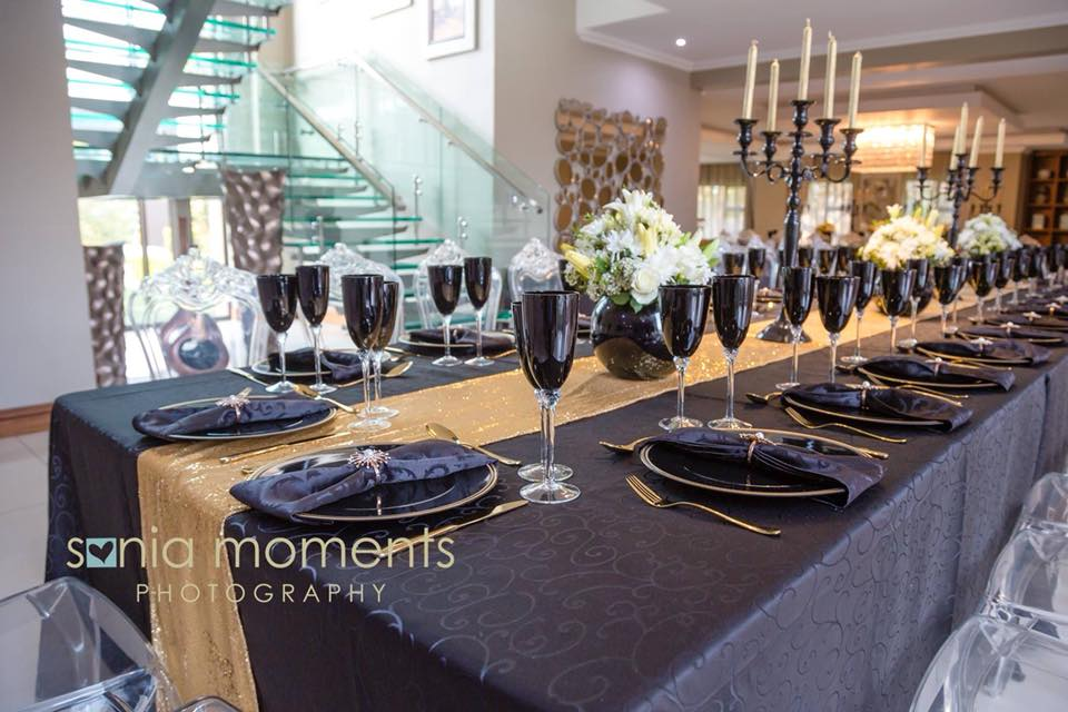 Black & Gold Mmakgosi Tshwale's Private Family Dinner 7