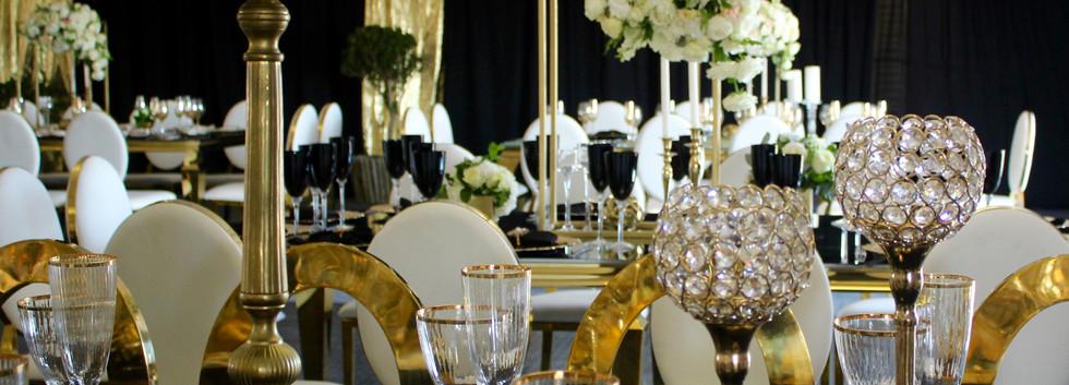Nyeleti Events Black & Gold The Ranch 20