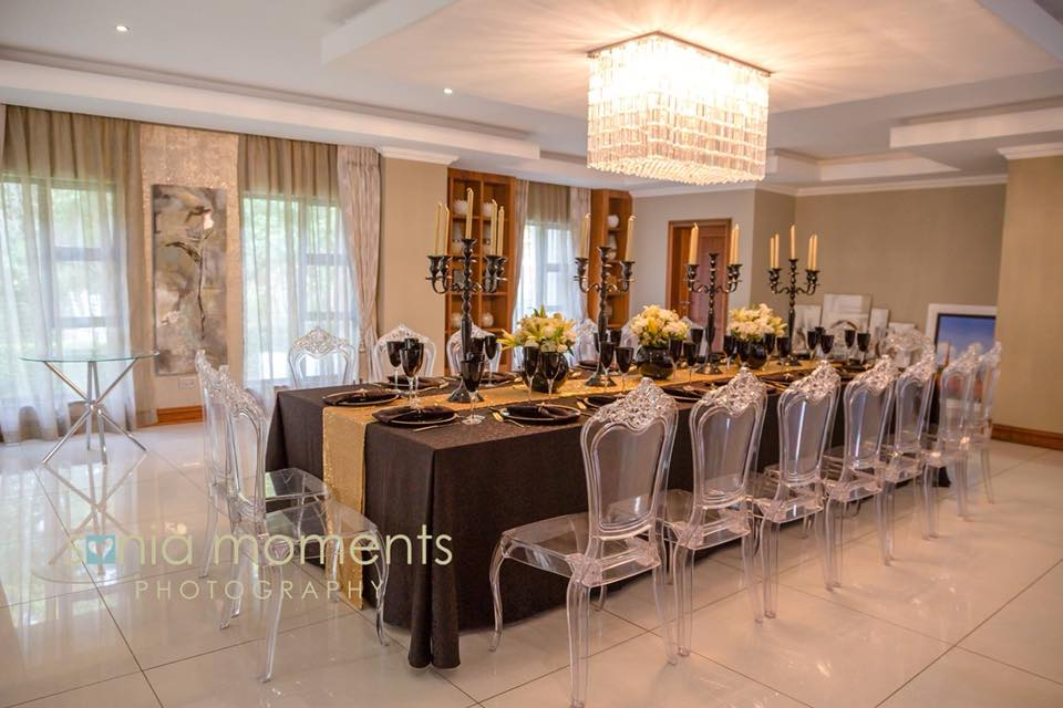Black & Gold Mmakgosi Tshwale's Private Family Dinner 5