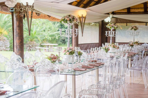 Blush Pink & White at Shiloh Lodge