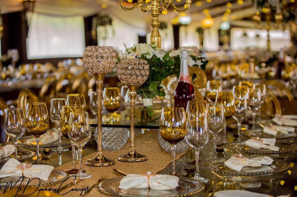 Glamour by Nyeleti Events. Adding simple perfection perfectly!