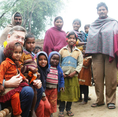 OIWW Founder Jim Luce visited kids and their school at an untouchable village in Bihar, India.