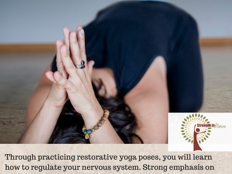 Restorative Yoga Drop-in Class Starts tomorrow (11/17) at Noon!