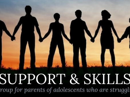 Support & Skills for Parents of Adolescents who are Struggling | February 6 - March 13, 2018