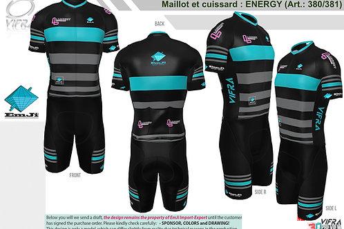Ensemble maillot et cuissard ENERGY EmJi Import-Export / Lambert Perfor