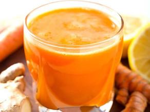 Turmeric Twister Juice Recipe