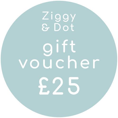£25 Gift Card E-Voucher
