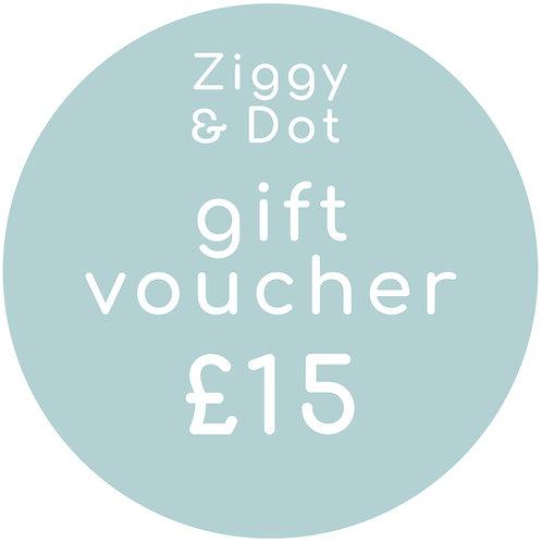 £15 Gift Card E-Voucher