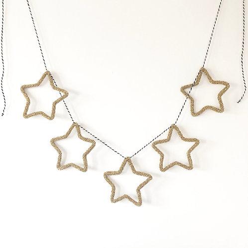 Sparkly Star Garland