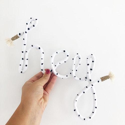 Hey Dalmatian Sign