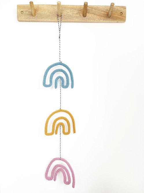 Rainbow Trio Hanging