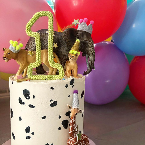 Birthday Number Cake Topper
