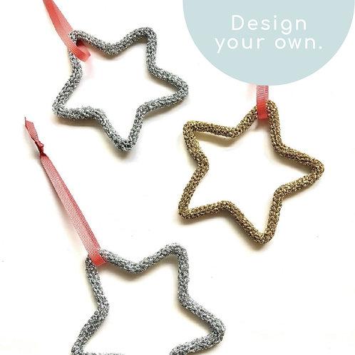 Lurex Star Decoration