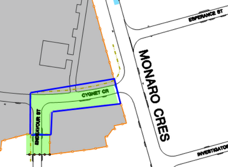 EXTENSION OF ROAD CLOSURES – ENDEAVOUR ST/CYGNET CR