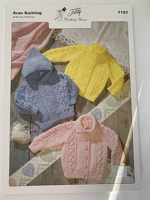 Aran Children's Jacket Pattern