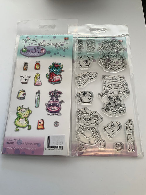 Clear Stamp Set - Monsters