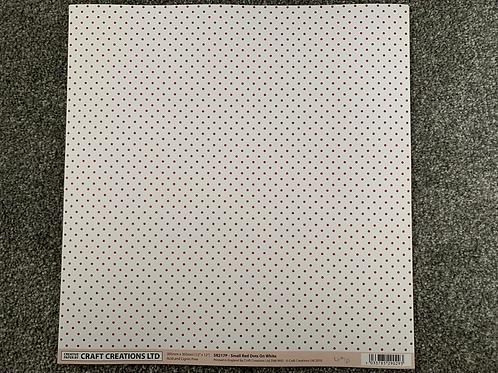 12 X 12 - Craft Creations - Polka Dots