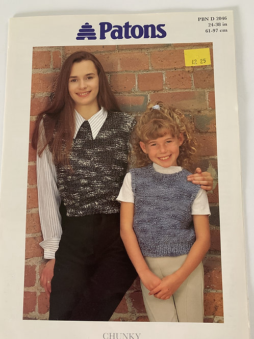 Chunky Children's Cropped Top Pattern