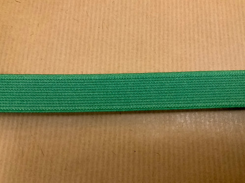 Green 20mm elastic - per mtr