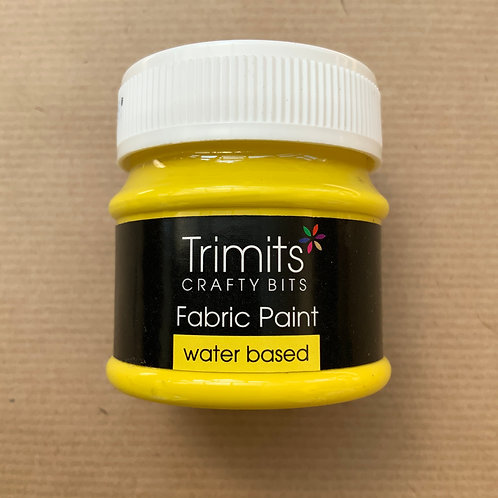 Trimits - Fabric Paint - Yellow