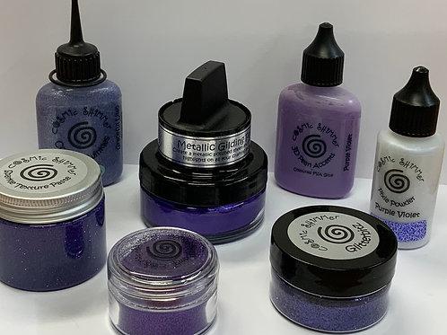 Purple Luxury - Colour Connection - Cosmic Shimmer Bundle