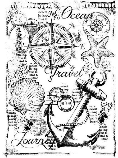 Nautical - Clear Stamp
