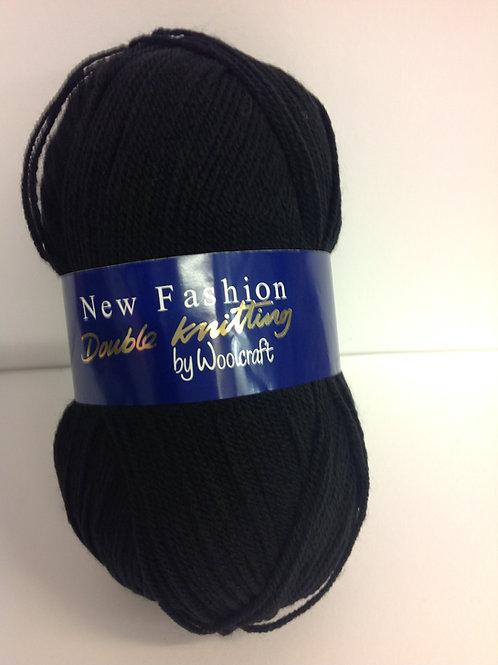 Value Double Knit - Black