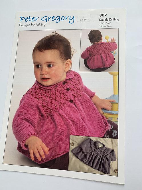 Baby DK Smocked & Beaded Coats Pattern