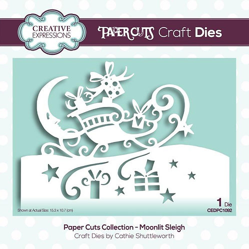 Paper Cuts Collection - Moonlit Sleigh Craft Die