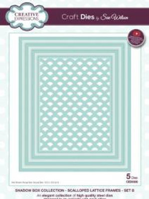 Shadow Box Frame - Lattice Frame - Set B