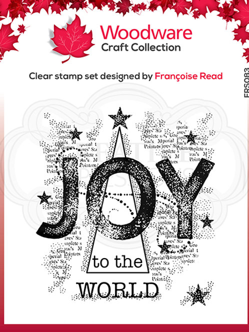Woodware - Clear Stamp - Joy