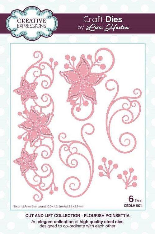 Cut & Lift Poinsettia