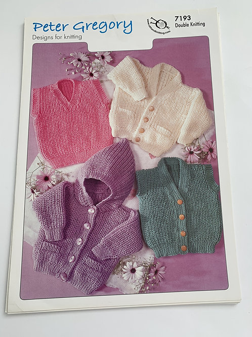 DK Children's Cardigan, Slipover and Waistcoat Pattern
