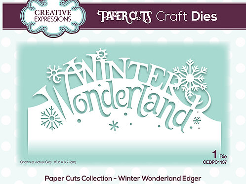 Winter Wonderland - Paper Cuts Edger