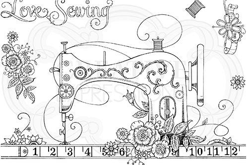 Pink ink - Sewing Machine