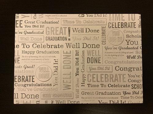 A4 Card- SALE - Graduation