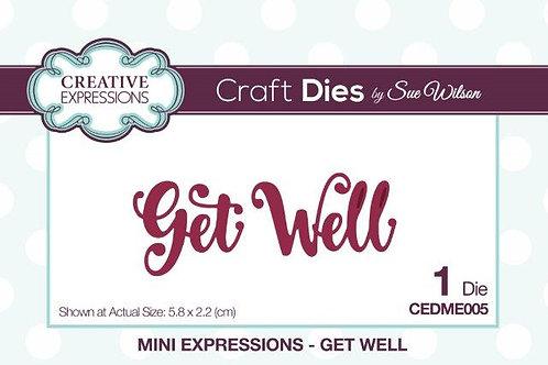 Sue Wilson - Get Well Die
