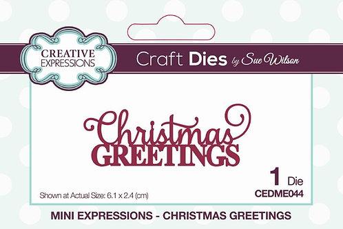 Sue Wilson - Christmas Greetings