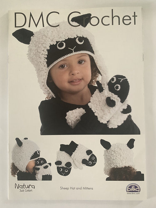 DMC Hat & Gloves Crochet Pattern