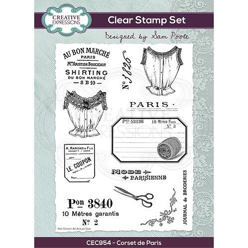 Corset de Paris - Clear stamp*