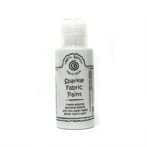 Silver Shine - Sparkle - Fabric Paint