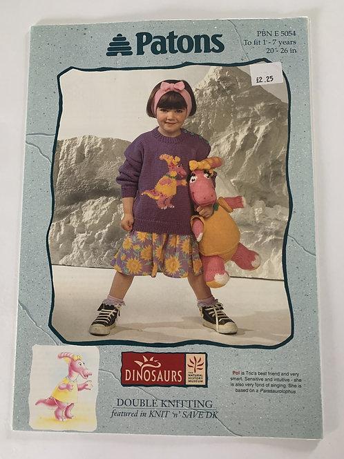 DK Children's Sweater & Teddy Pattern