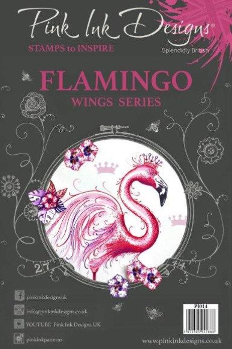 Pink ink - Flamingo