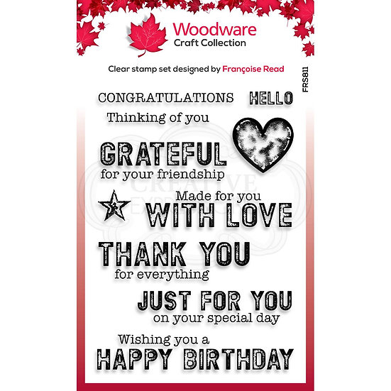 "Made For You - 4""x6"" Clear Stamp Set"