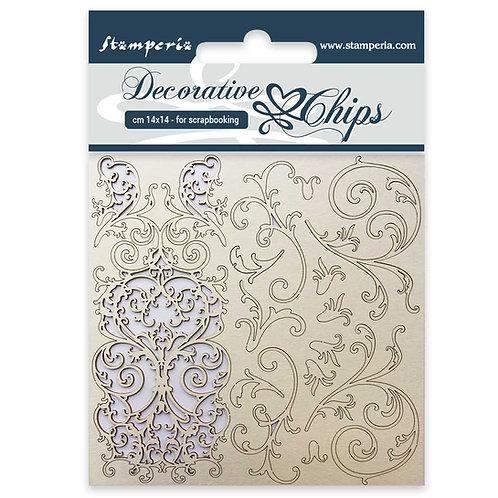 Decorative Chips - Tapestry -14cmx14cm