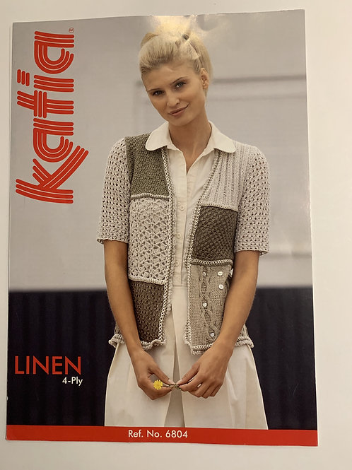 4ply Katia Ladies Cardigan Pattern