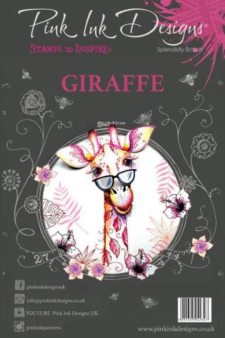 Pink ink - Giraffe