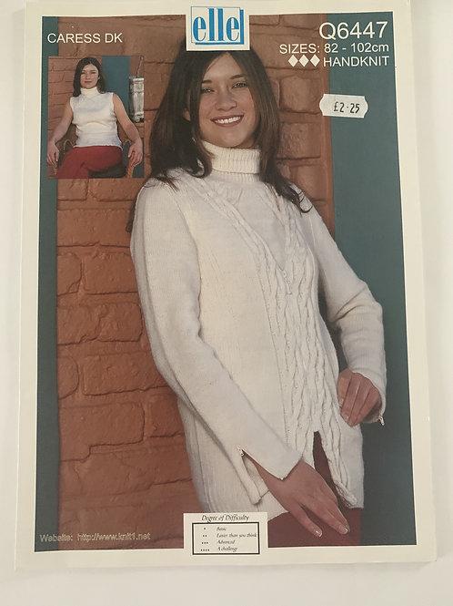 DK Ladies Sweater & Top Pattern