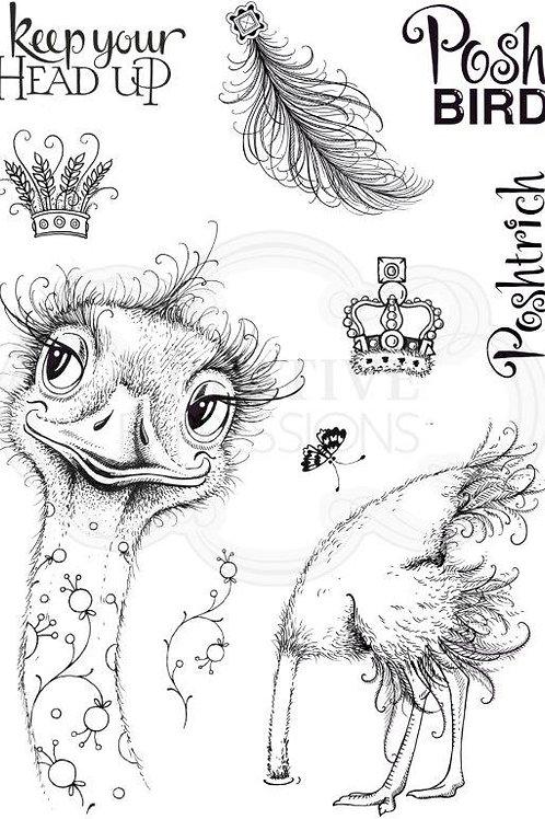 Pink ink - Ostrich