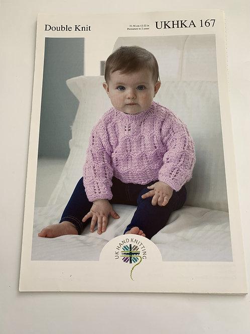 Baby DK Cardigan & Sweater Pattern